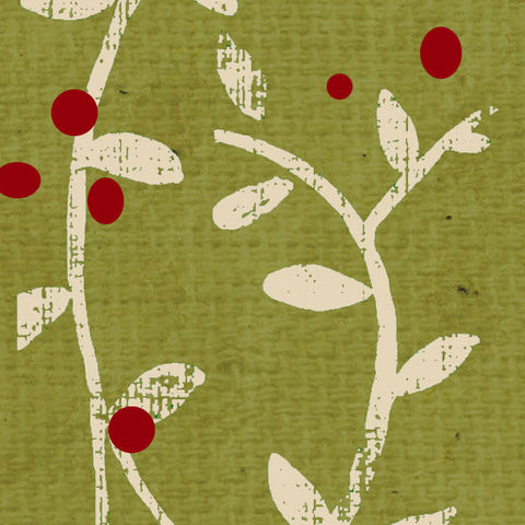 *********HBSV - Holly Berry Stenciled Vine