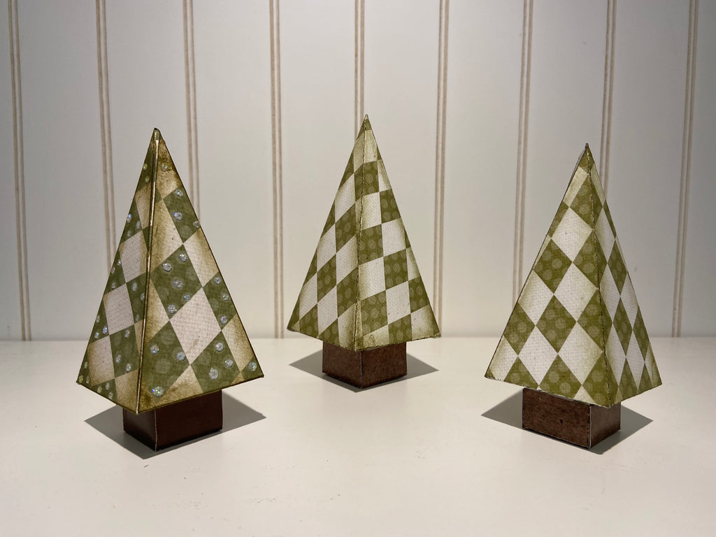 *Paper Christmas Trees