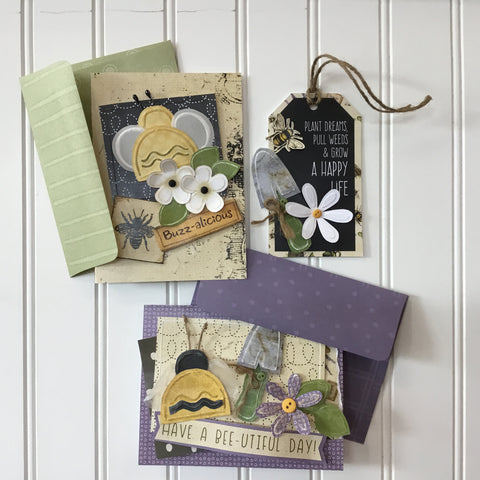 *******Buzz-alicious Card & Tag Kit