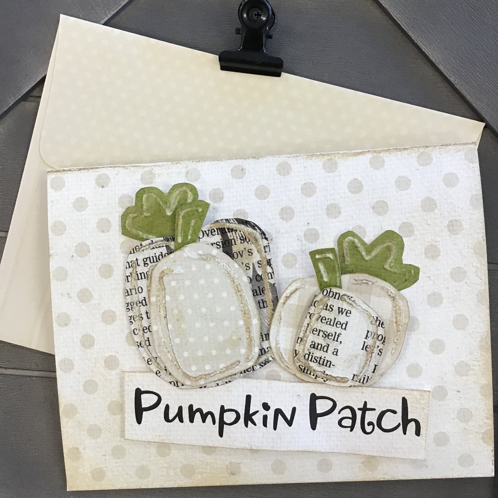 *******BOOtiful Card Camp - Pumpkin Patch Mini Card Kit - Makes 4 Cards
