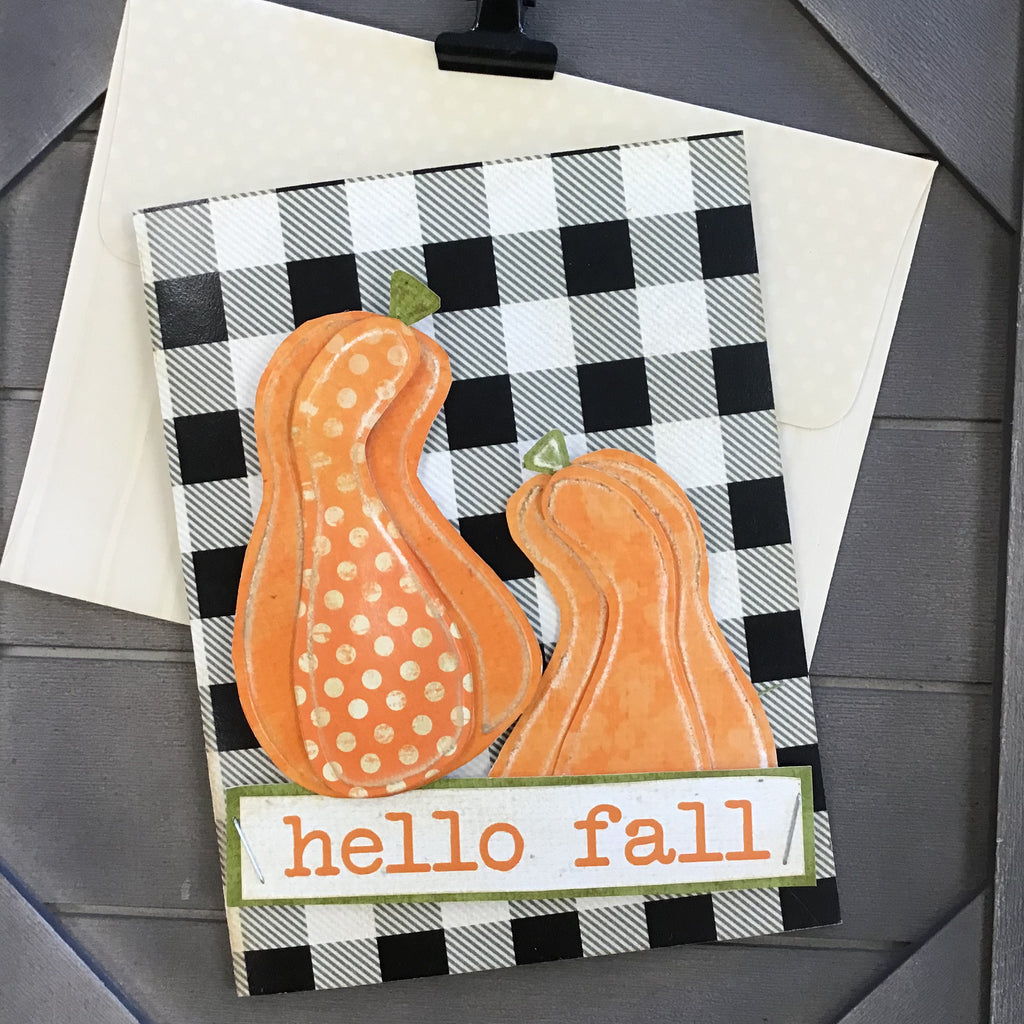 BOOtiful Card Camp - Hello Fall Mini Card Kit - Makes 4 Cards
