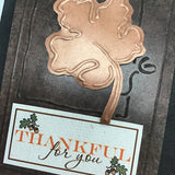 ********Thankful for You Card & Tag Kit