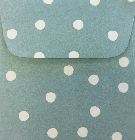 Forget Me Not Dots Doodle Tag Envelopes - Set of 4