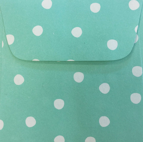 Seaside Dots Doodle Tag Envelopes - Set of 4