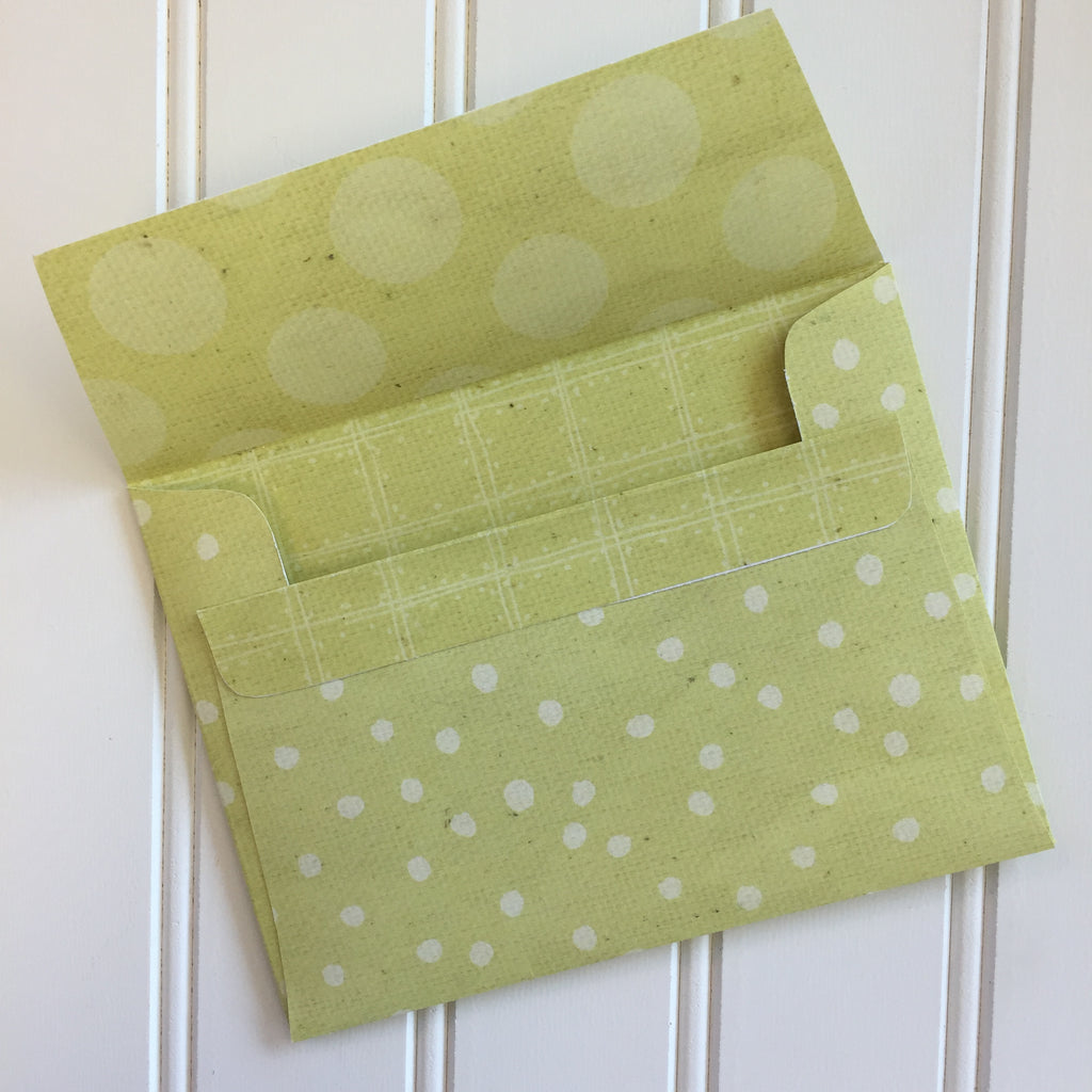 A2 Envelopes DIY Sweet Pea Reversible