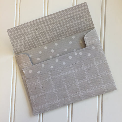 Cobblestone Reversible DIY A2 Envelopes