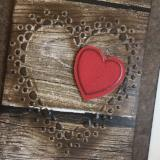 ****Rustic Love - Set of 4 Cards