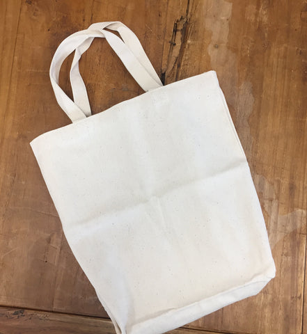 My Story Canvas Tote Bag