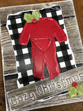 Cozy Christmas Card Kit - Set of 4 Cards