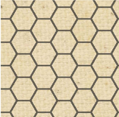 ***BABHCN - Honeycomb Natural Paper  8 1/2 x 11