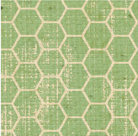 ***BABHCLGL - Honeycomb Leafy Green Light Paper  8 1/2 x 11