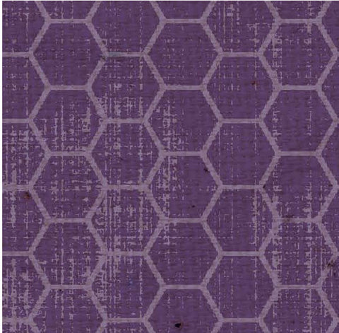 ***BABHCSPD - Honeycomb Sugar Plum Dark Paper  8 1/2 x 11