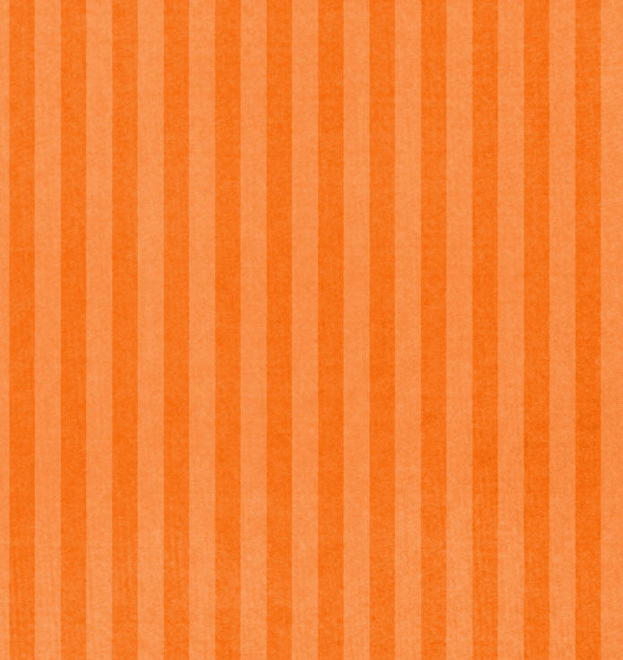 *KUST81 Kumquat Stripes 8 1/2 x 11 - One Sheet