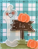 L9071 - Skinny Ghost Embossing Template
