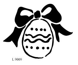 L9009 - Egg with Bow
