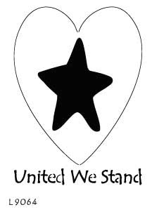 L9064  - United We Stand Heart