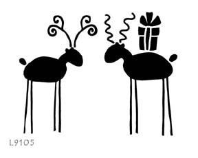L9105 - Mr. & Mrs. Reindeer
