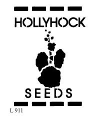 L911 - Hollyhock Seeds