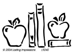 L9240  - Books with Apples