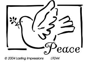 L9244  - Peace with Dove