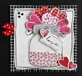 L9270 - Heart with Roses and Dots