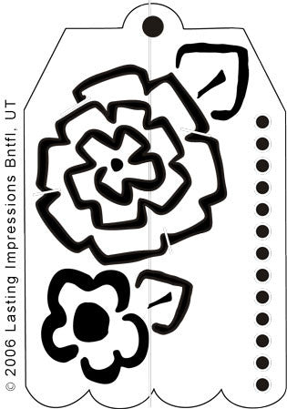 L9379- FLOWER GIFT TAG