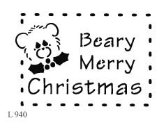 L940 - Beary Merry