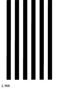 L968 - Bold Stripes - Vertical