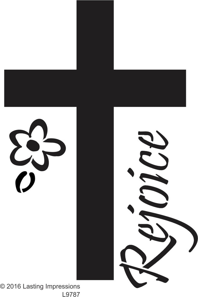 L9787 Rejoice Cross