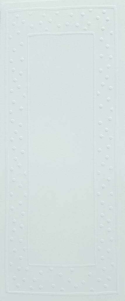 Lengthy Notes - Lots of Dots White Notecards