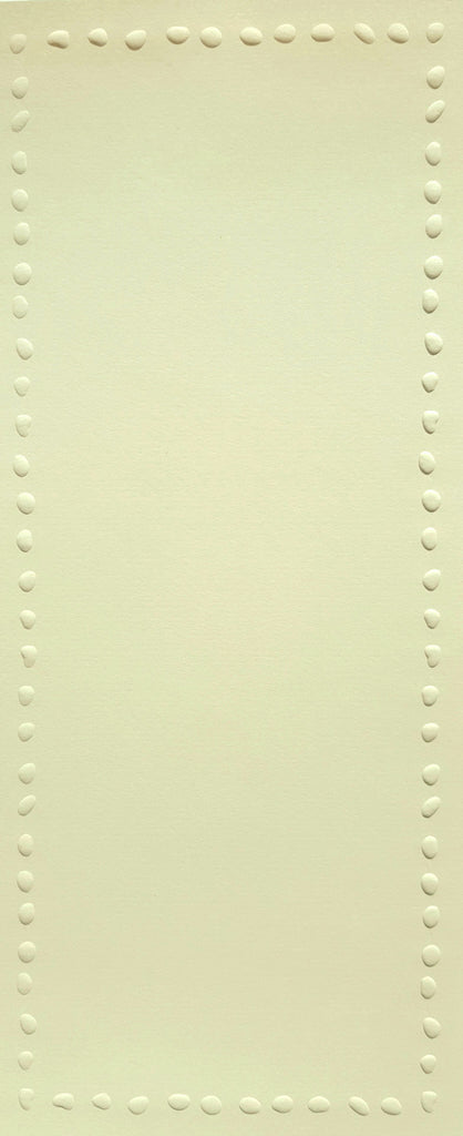 Lengthy Notes - Single Dots Cream Notecards
