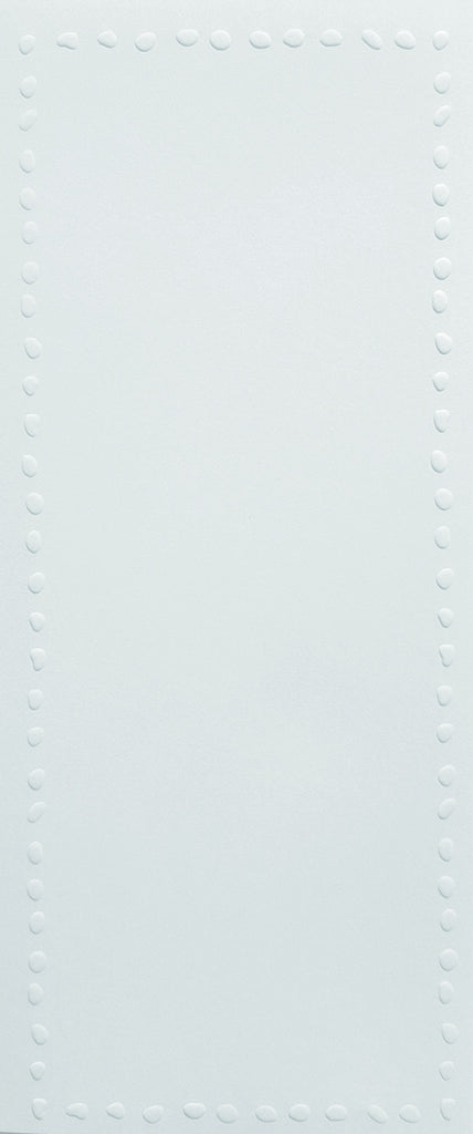 Lengthy Notes - Single Dots White Notecards