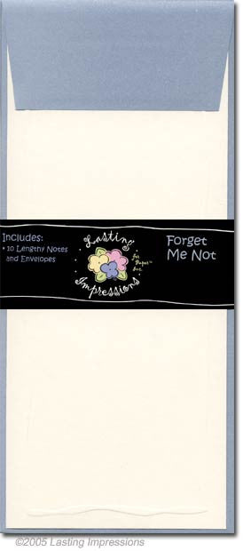 LENGTHY NOTES - FORGET ME NOT