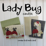 *Lady Bug Card Kit