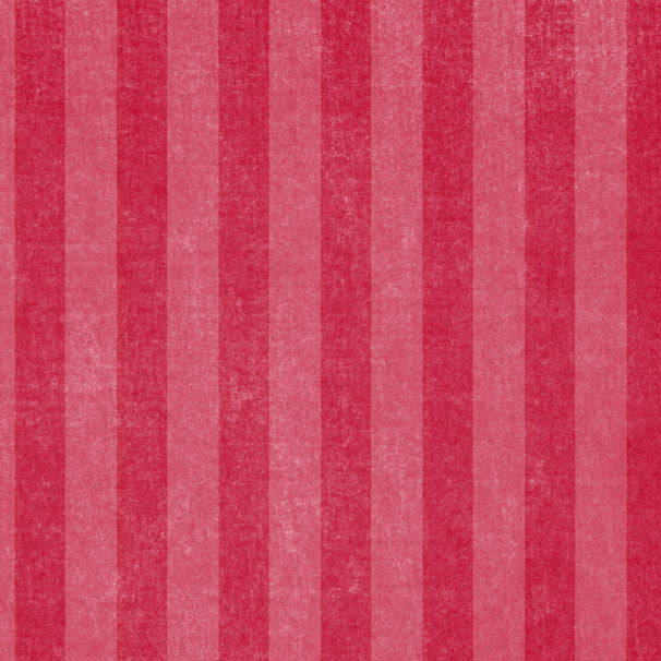 *LBRCS8 - Ladybug Red Chalky Stripes 8 1/2 x 11 - One Sheet