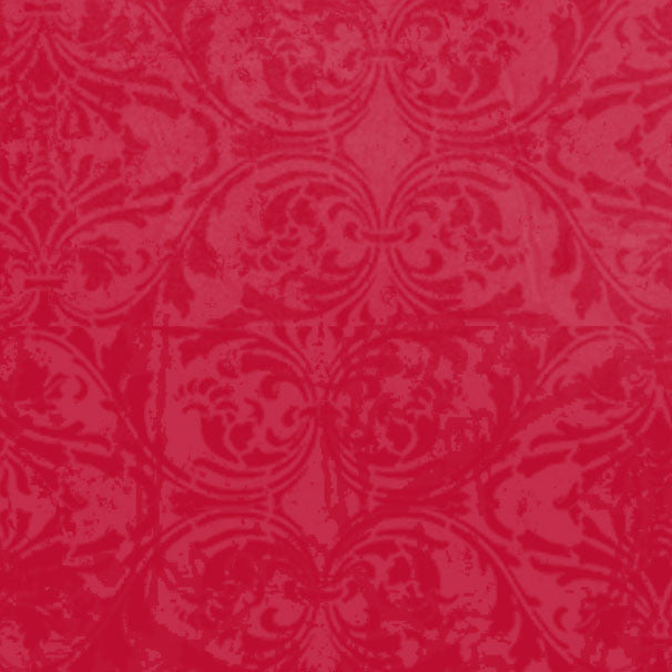 *LBRDM8 - Ladybug Red Damask 8 1/2 x 11 - One Sheet