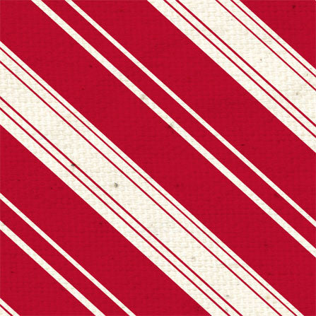 *LBRDS8 - Ladybug Red Diagonal Stripes 8 1/2 x 11 - One Sheet