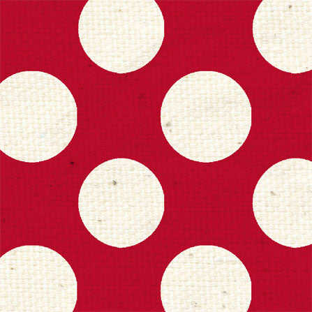 *LBR - Ladybug Red Large Polka Dots 8 1/2 x 11 - One Sheet