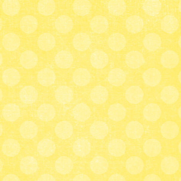 *LYCD8 - Lemonade Yellow Chalky Dots 8 1/2 x 11 - One Sheet