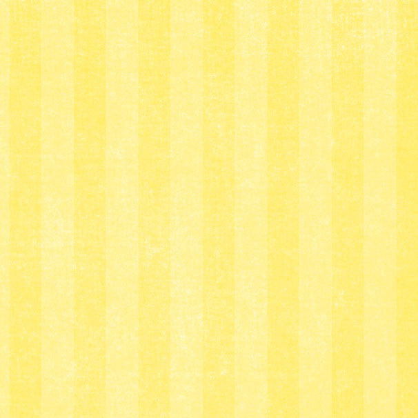 *LYCS8 - Lemonade Yellow Chalky Stripes 8 1/2 x 11 - One Sheet