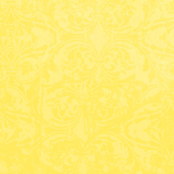 *LYDM8 - Lemonade Yellow Damask 8 1/2 x 11 - One Sheet
