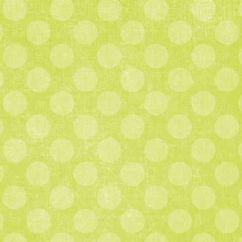 *LFCD8 - Lime Fizz Chalky Dots 8 1/2 x 11 - One Sheet