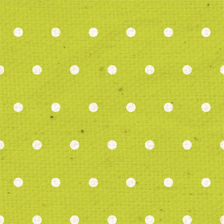 *MEB - Lime Fizz Small Dots 8 1/2 x 11 - One Sheet