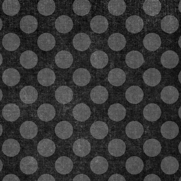 *MSBCD8 - Midnight Sky Black Chalky Dots 8 1/2 x 11 - One Sheet