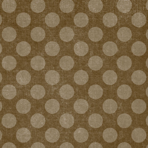 *MPBCD8 - Mud Pie Brown Chalky Dots 8 1/2 x 11 - One Sheet