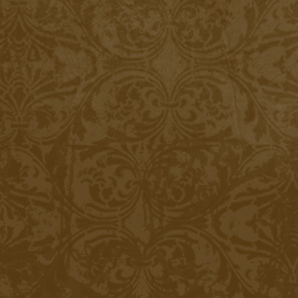 *MPBDM8 - Mud Pie Brown Damask 8 1/2 x 11 - One Sheet