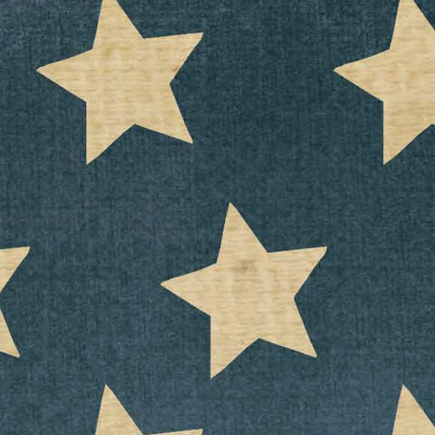 ********OGBTSS8 - Old Glory Blue with Tea Stained Stars