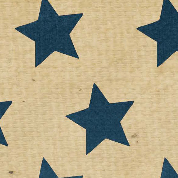 ********OGTSBS8 - Old Glory Tea Stained Blue Stars