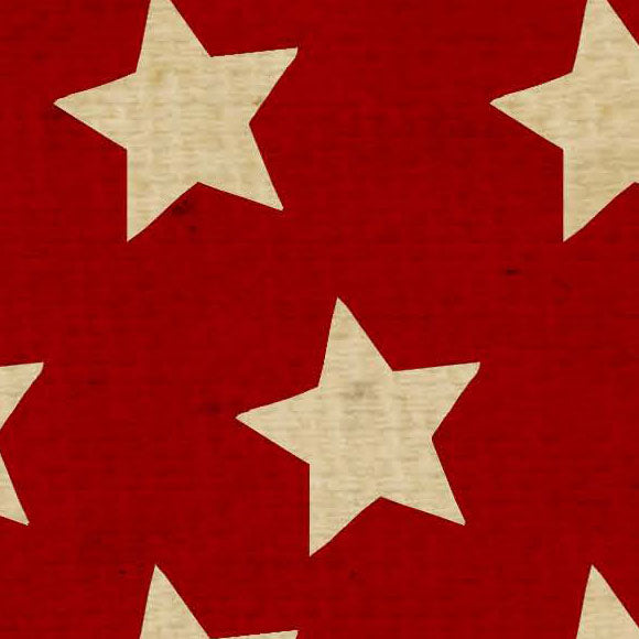 ********OGRTSS8 - Old Glory Red Tea Stained Stars