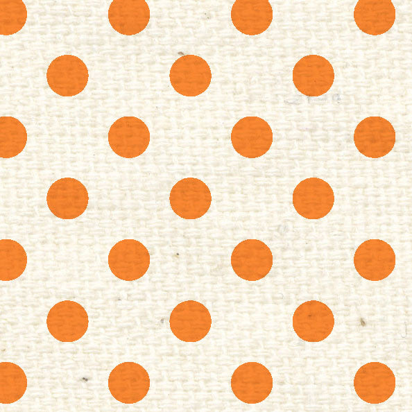 **OPRPD8 Orange Poppy Reverse Polka Dots 8 1/2 x 11